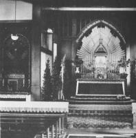 St. Franziskus, Innenansicht 1927