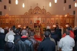 Orthodoxe St. Barbara Kirche zu Krefeld, Innenansicht