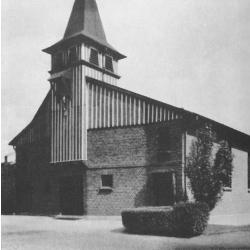St. Franziskus, Außenansicht 1927
