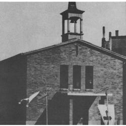 St. Franziskus, Außenansicht 1948