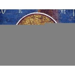 Распятие. Фреска монастыря Высокие Дечаны, Сербия. XIV в.
