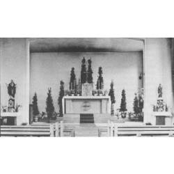 St. Franziskus, Innenansicht 1948