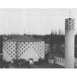 St. Franziskus, Außennsicht 1960